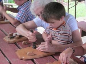 Little help from Grandma
