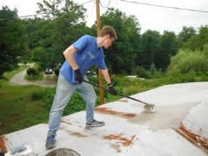 Roof Coating 1