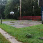 Our basketball court