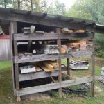 Lumber rack.