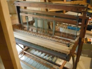 One of our two looms. Gift's from St. Timothy's, Roxboro, PA.