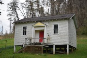 Schoolhouse at Ross's Creek